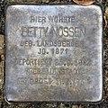 Stolperstein Caspar-Theyß-Str 3 (Grune) Betty Nossen.jpg