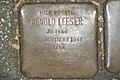 Stolperstein Duisburg 500 Duissern Schweizer Straße 15 Arnold Leeser.jpg