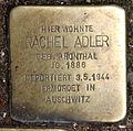 Stolperstein Friedelstr 47 (Neukö) Rachel Adler.jpg