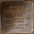 Stolperstein Göppingen, Robert Einstein.jpg