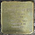 Stolperstein Jeannette Meier (Hauptstraße 36 Kirch-Göns).jpg