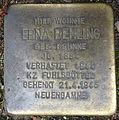 Stolperstein Löwenstraße 5 (Erna Behling) in Hamburg-Hoheluft-Ost.JPG