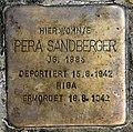 Stolperstein Mainzer Str 16a (Wilmd) Pera Sandberger.jpg