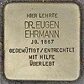 Stolperstein für Dr. Eugen Ehrmann (Heidelberg).jpg