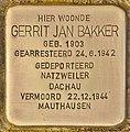 Stolperstein für Gerrit Jan Bakker (Den Haag).jpg