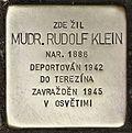 Stolperstein für Mudr. Rudolf Klein.jpg