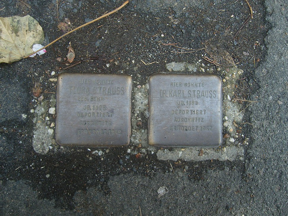 Stolperstein neustadtanderweinstraße