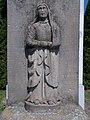 Stone cross (1875). Mary, 2020 Marcali.jpg