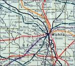 Stouffer's Railroad Map of Kansas 1915-1918 Sedgwick County.png