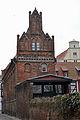 Stralsund, Auf dem Sankt Nikolaikirchhof 1 2, Giebel zur Semlower Straße (2012-03-18) 1, by Klugschnacker in Wikipedia.jpg