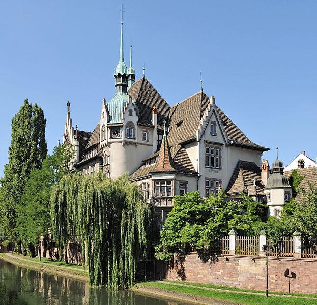 Fichier:Strasbourg Lycée int pontonniers 01.jpg