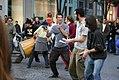 Street muscians in Paris, October 30, 2004.jpg