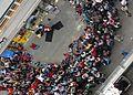 Street performers during Pflasterspektakel festival (8167135588).jpg