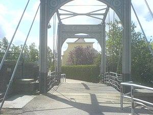 Strijensas - The bridge crossing the Lock in Strijensas