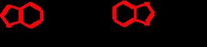 Benoxaprofen - Image: Structures benoxaprofen and psoralen