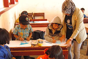 Student Study-Service in Indonesia.JPG
