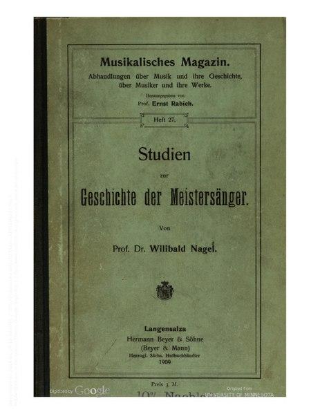 File:Studien zur Geschichte der Meistersaenger.pdf