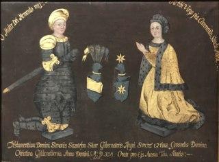 Sture Sten Svantesson d.y. 1492-1520, och Kristina Gyllenstierna, 1494-1559