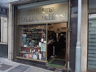 Sturks Tobacconists Oldest tobacco shop in South Africa