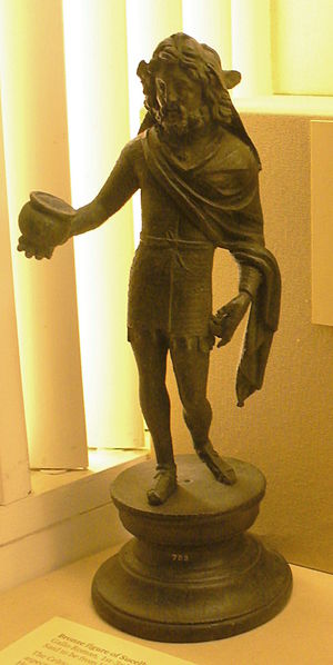 Sucellus - Bronze statue of Sucellus from Vienne.