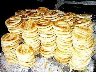 Bangladeshi cuisine - Bakarkhani in Dhaka, Bangladesh