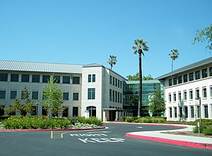 Sun Microsystems - Buildings 21 and 22 at Sun's headquarters campus in Santa Clara
