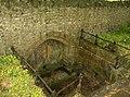 Sunken Spring in Cattistock Churchyard - geograph.org.uk - 437505.jpg