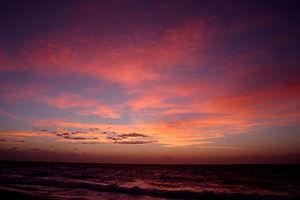 Sunrise, Playa del Carmen, Mexico