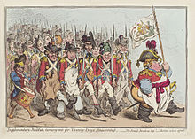 Supplementary-militia, turning-out for twenty-days amusement by James Gillray.jpg
