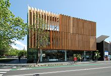 Surry Hills Library and Community Centre, Sydney, Australia. Design by FJMT.