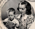 Susan Peters and son Timothy, 1948.png