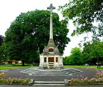 Manor Park, Sutton - Sutton War Memorial