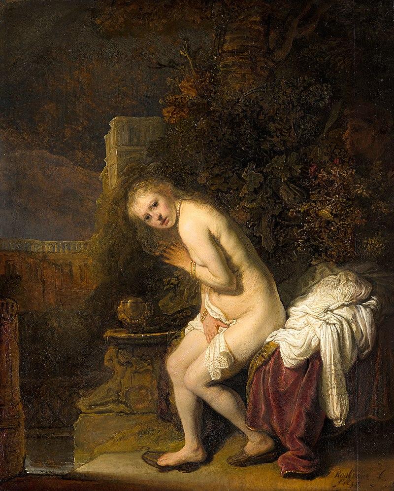 Suzanna, Rembrandt van Rijn, 1636, Mauritshuis, The Hague.jpg