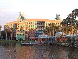 Walt Disney World Swan - Image: Swan hotel