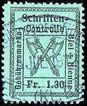 Switzerland Biel Bienne 1910 revenue 1.30Fr - 25A.jpg
