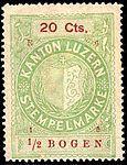 Switzerland Lucerne 1915 revenue 6 20c - 150 - E 4 15.jpg