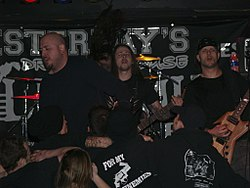 Sworn Enemy Live in Wheeling, 2008