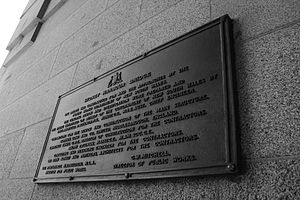 Thomas S. Tait - Image: Sydney Harbour Bridge plaque