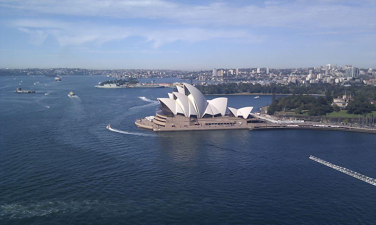 Sydney opera house and harbour bridge - File Sydney Harbour Bridge Opera House Jpg