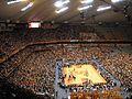 Syracuse University - Carrier Dome - basketball game.jpg