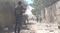 Syrian rebels in combat in Qaboun (Damascus).png