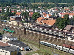 Szczecinek - Railway Station in Szczecinek