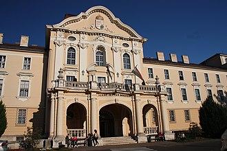 Gödöllő - The main entrance of the university