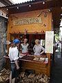 Szittya Pita. Street food vendors. - Szentendre. Dumtsa Jenő Street.JPG