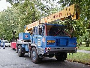 Tatra 813 - Image: T813 4x 4