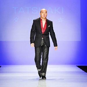 Dan Liu - Dan Liu, as creative director of TATSUAKI fashion house, walked out at World MasterCard Fashion Week in Canada for 2015 Fall/Winter fashion show
