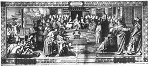 One of the frescoes of the Ecumenical Councils...