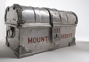 1933 British Mount Everest expedition - A Tabloid medicine chest, packed with Burroughs Wellcome Tabloid products, used on the 1933 Mount Everest Expedition