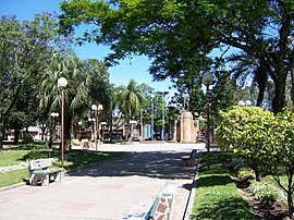 Plaza 19 de Abril in Tacuarembó