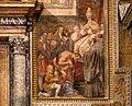 Taddeo zuccari, presa di tunisi, e federico zuccari, Enrico IV perdonato da papa Gregorio VII, 1564-80, 06.jpg
